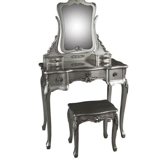 Lovelace Mirrored Dressing Table Set